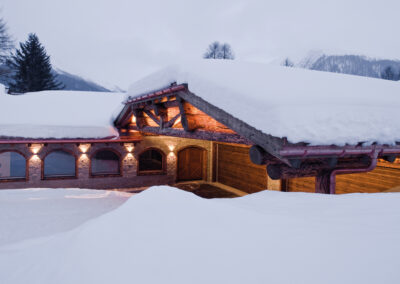 PRIVATE HOME DAVOS – OUTDOOR LIGHTING
